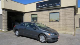 Used 2009 Honda Civic DX-G Aux inputs, Cruise Control, for sale in Kingston, ON
