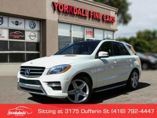 Used 2015 Mercedes-Benz ML-Class ML350 Bluetec AMG Pkg Navigation, Distronic+ for sale in Toronto, ON