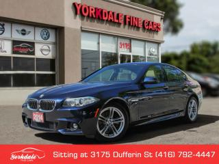 Used 2014 BMW 528 i xDrive M Sport Navigation, 360 Cam, No Accidents for sale in Toronto, ON