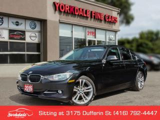 Used 2015 BMW 320i xDrive Sport Line, Navigation, Red Int, No Accidents for sale in Toronto, ON