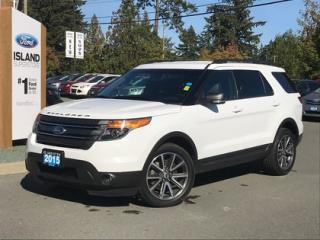 Used 2015 Ford Explorer Xlt, Leather, Nav, AWD for sale in Duncan, BC