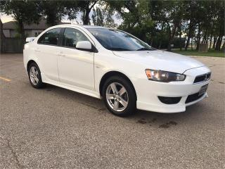 Used 2009 Mitsubishi Lancer SE Alloys/New tires/Heated Seats/Remote Start for sale in Winnipeg, MB