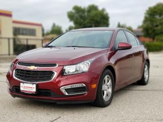 Used 2015 Chevrolet Cruze 2LT Navigation | Leather | Sunroof | CERTIFIED for sale in Waterloo, ON