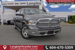 Used 2017 RAM 1500 Laramie <B>*LOCAL BC  *NO ACCIDENTS *SINGLE OWNER</B> for sale in Surrey, BC