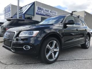 Used 2014 Audi Q5 TDI Technik S-LINE|NAVI|CAMERA|PANORAMIC ROOF|ALLOYS for sale in Concord, ON