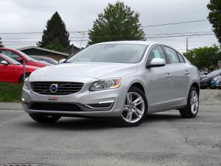 Used 2014 Volvo S60 T5 PREMIER PLUS + 17 270 KM + CUIR + TOI for sale in Sherbrooke, QC