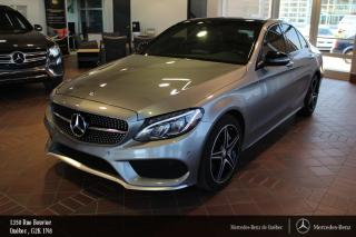 Used 2016 Mercedes-Benz C-Class C450 Amg Awd, Toit for sale in Québec, QC