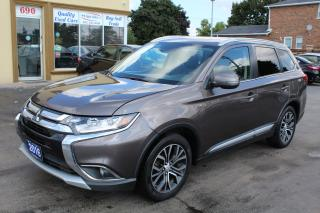 Used 2016 Mitsubishi Outlander GT 7 Passenger for sale in Brampton, ON
