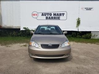 Used 2007 Toyota Corolla CE for sale in Barrie, ON