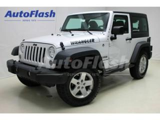 Used 2016 Jeep Wrangler Sport Hard-Top for sale in St-Hubert, QC