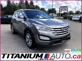 Used 2015 Hyundai Santa Fe Limited-AWD-GPS-Camera-Pano Roof-Vented Leather-XM for sale in London, ON