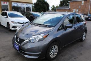 Used 2017 Nissan Versa Note SV for sale in Brampton, ON