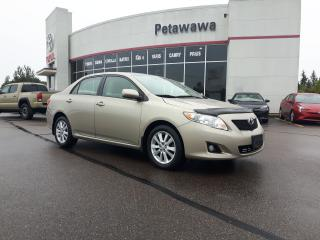 Used 2010 Toyota Corolla LE for sale in Pembroke, ON