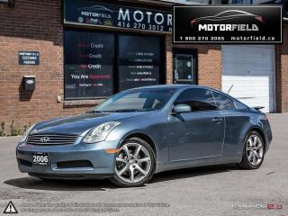 Used 2006 Infiniti G35 Sport *Bluetooth, Certified, Warranty* for sale in Scarborough, ON