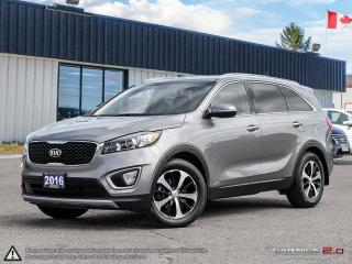Used 2016 Kia Sorento 2.0L Turbo EX,AWD,ECO/SPORT MODES,REAVIEW CAM for sale in Barrie, ON