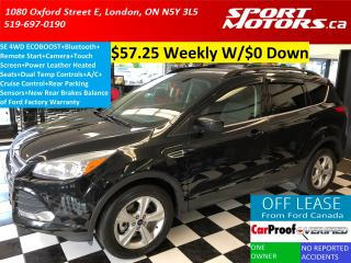Used 2014 Ford Escape SE AWD+Touch Screen+RMT Start+Camera+Heated Leathe for sale in London, ON