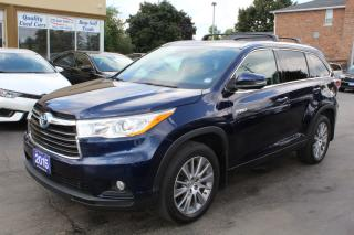 Used 2015 Toyota Highlander Hybrid XLE Hybrid for sale in Brampton, ON