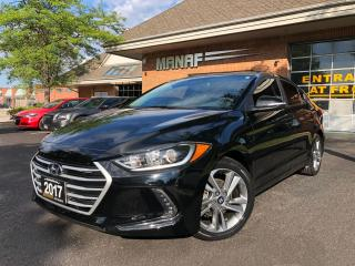 Used 2017 Hyundai Elantra GLS Sunroof Rear Cam Heated Seats Certified* for sale in Concord, ON
