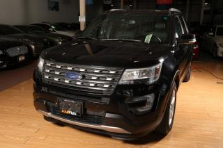 Used 2016 Ford Explorer XLT,4WD, Leather, Navigation,Sunroof,tow pkg,No accident,7 passenger for sale in North York, ON