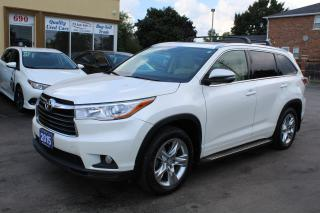 Used 2015 Toyota Highlander LIMITED  for sale in Brampton, ON