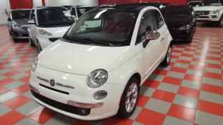 Used 2016 Fiat 500 C Décapotable 2 portes Lounge for sale in St-eustache, QC