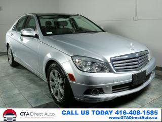 Used 2008 Mercedes-Benz C-Class C230 4Matic AWD Leather Wood Heated Certified for sale in Toronto, ON