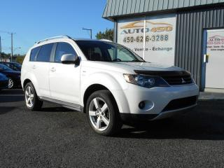 Used 2009 Mitsubishi Outlander ***XLS,7 PASSAGERS,CUIR*** for sale in Longueuil, QC