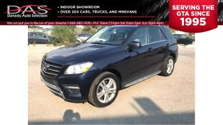 Used 2013 Mercedes-Benz ML-Class ML 350 BlueTEC 4MATIC DIESEL LEATHER/SUNROOF for sale in North York, ON