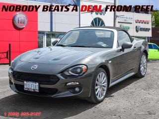 New 2017 Fiat 124 Spider Prima Edizione Lusso for sale in Mississauga, ON