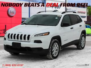 New 2018 Jeep Cherokee Sport for sale in Mississauga, ON