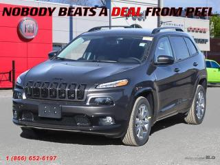 New 2018 Jeep Cherokee North for sale in Mississauga, ON
