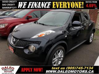 Used 2013 Nissan Juke SV| BLUETOOTH| LOW KM'S | CERTIFIED for sale in Hamilton, ON