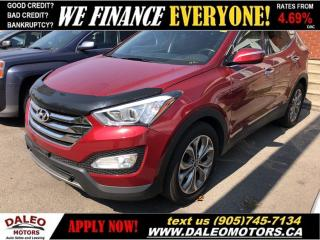 Used 2013 Hyundai Santa Fe Sport 2.0T SE| LEATHER| AWD| PANORAMA ROOF for sale in Hamilton, ON