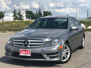 Used 2013 Mercedes-Benz C-Class C300 4MATIC|ACCIDENT FREE|NAVIGATION|FINANCING AVAILABLE for sale in Mississauga, ON