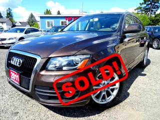 Used 2011 Audi Q5 V6  PREMIUM PLUS/NAVI/PANO/BACK UP CAM/CERTIFIED for sale in Guelph, ON