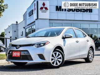 Used 2016 Toyota Corolla LE| BACKUP CAMERA| CLEAN CARPROOF| for sale in Mississauga, ON