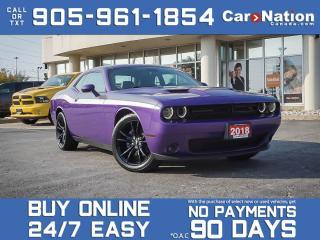 Used 2018 Dodge Challenger R-T Blacktop| SOLD | SOLD | SOLD | for sale in Burlington, ON