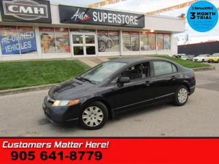 Used 2007 Honda Civic Sedan DX-G  AS IS (UNCERTIFIED) AS TRADED IN for sale in St. Catharines, ON