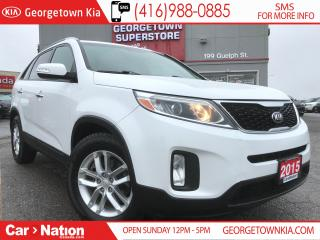 Used 2015 Kia Sorento LX  BACK UP CAM  HEATED SEATS  PWR OPT for sale in Georgetown, ON