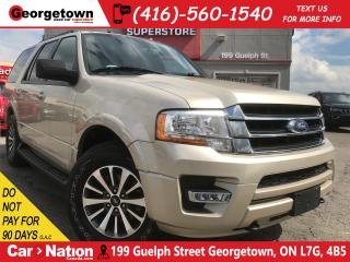 Used 2017 Ford Expedition XLT | 4X4 | REMOTE START | LEATHER | 7 PASS for sale in Georgetown, ON