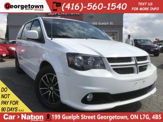 Used 2017 Dodge Grand Caravan GT | 73K KM | PWR DOORS | LEATHER HTD SEATS | for sale in Georgetown, ON