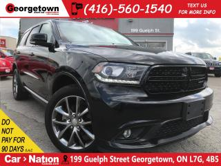 Used 2017 Dodge Durango GT | HTD PWR SEATS | KEYLESS | BU CAM for sale in Georgetown, ON