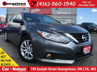 Used 2017 Nissan Altima 2.5 SV | BU CAM | HTD SEATS | for sale in Georgetown, ON