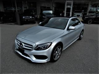 Used 2015 Mercedes-Benz C-Class C300 4MATIC - RED INTERIOR for sale in Langley, BC