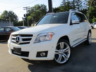 Used 2010 Mercedes-Benz GLK-Class GLK350 4MATIC ~ NAVIGATION ~ POWER MOONROOF !!! for sale in Burlington, ON