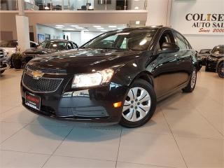 Used 2014 Chevrolet Cruze LT-BACK UP CAMERA-SUNROOF-ONLY 86KM for sale in Toronto, ON