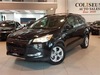 Used 2014 Ford Escape SE-NAVIGATION-CAMERA-LEATHER-PANO ROOF-ONLY 74KM for sale in Toronto, ON