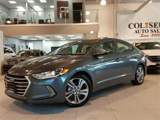 Used 2017 Hyundai Elantra GLS-SUNROOF-REAR CAMERA-BLUETOOTH-ONLY 41KM for sale in York, ON