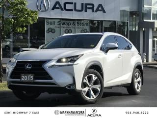 Used 2015 Lexus NX 200t 6A - Executive Package for sale in Markham, ON