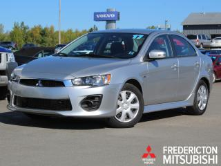 Used 2017 Mitsubishi Lancer ES HEATED SEATS | BACK UP CAM | WARRANTY TO 2027 for sale in Fredericton, NB